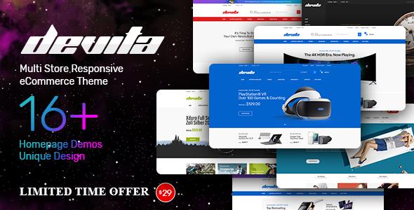 Image of Devita - Multipurpose Theme for WooCommerce WordPress