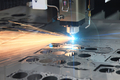 The hi-precision sheet cutting process by laser cut - PhotoDune Item for Sale