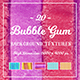20 Bubble Gum Background Textures
