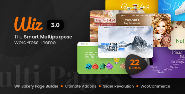Wiz - The Smart Multi-Purpose WordPress Theme - Miscellaneous WordPress