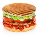 Hamburger isolated on white - PhotoDune Item for Sale