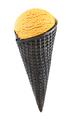 Ice cream in black charcoal cone - PhotoDune Item for Sale