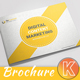 Landscape Content Marketing Brochure - GraphicRiver Item for Sale