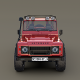 Land Rover Defender 110 Custom v2 with interior - 3DOcean Item for Sale