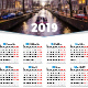 Calendar Poster 2019 - GraphicRiver Item for Sale