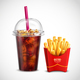 French Fries and Soda