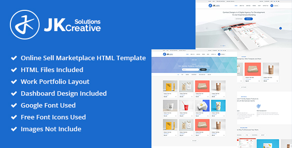Image of Portfolio - JK Creative Solutions HTML Template