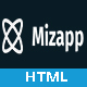 Mizapp - App Landing HTML5 Template - ThemeForest Item for Sale