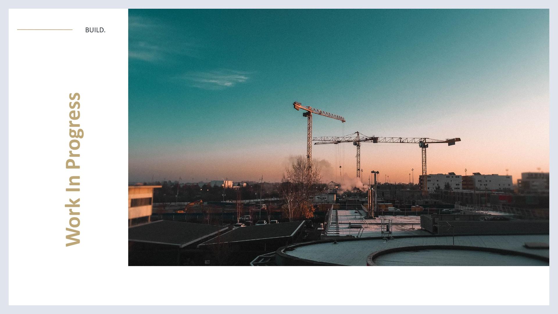 Build - Development Google Slides Template