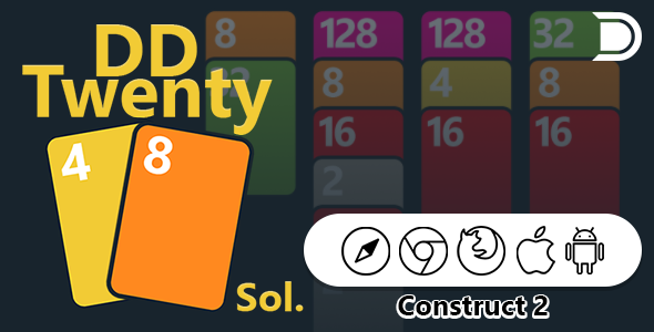 DD Twenty48 Solitaire - CodeCanyon Item for Sale