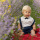 Beautiful Kid in Garden - VideoHive Item for Sale