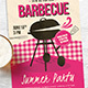 Retro BBQ Flyer / Poster - GraphicRiver Item for Sale
