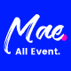 Mae - A Gutenberg & WordPress Theme for Events, Conferences and Seminars - ThemeForest Item for Sale