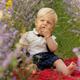 Kid Smiling in Lavender - VideoHive Item for Sale