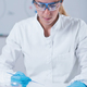 Female science researcher working in laboratory - PhotoDune Item for Sale