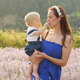 Happy Mother and Beautiful Kid - VideoHive Item for Sale