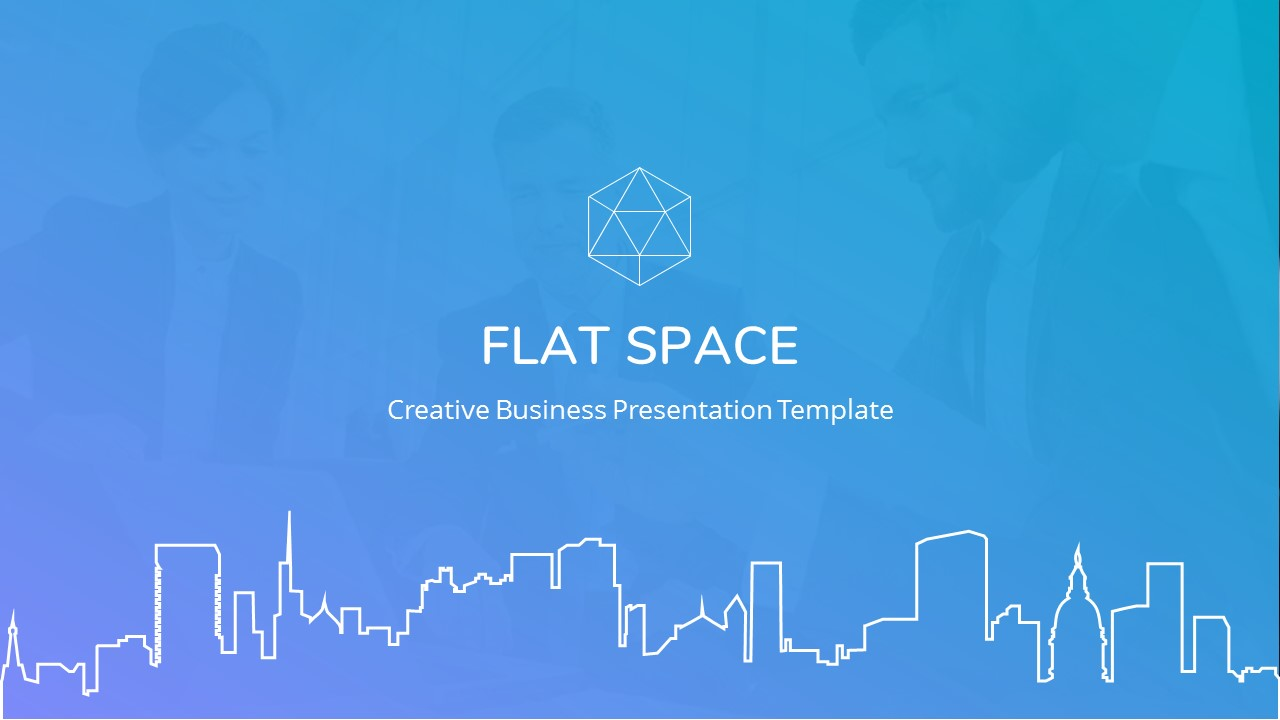Flat Space - Creative Business Keynote Template