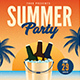 Summer Beer Party Event Flyer - GraphicRiver Item for Sale