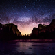 Milky Way at  Yosemite Valley View - PhotoDune Item for Sale