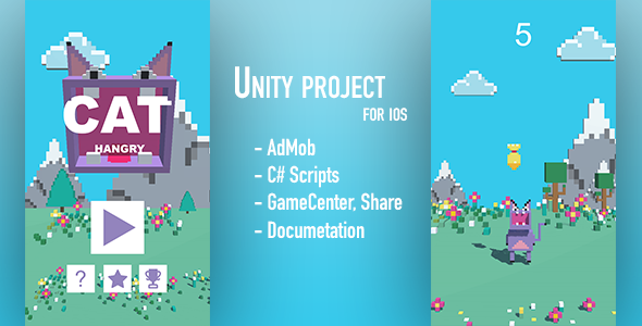 Hungry Cat - Unity Project            Nulled