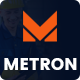 METRON - Factory & Industrial Business HTML Template - ThemeForest Item for Sale