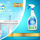 Bathroom Cleaner Advertising Composition