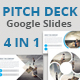 Pitch Deck - 4 In 1 Google Slides Bundle - GraphicRiver Item for Sale