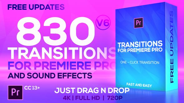 Modern Transitions   For Premiere PRO - chuyển cảnh hạng nặng