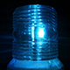 Blue Safety Light Flashing in the Dark - VideoHive Item for Sale