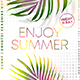 Enjoy Summer Flyer - GraphicRiver Item for Sale