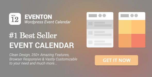 EventOn - WordPress Event Calendar Plugin Nulled