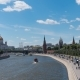 Sunny Summer Day Moscow River Bay Kremlin - VideoHive Item for Sale