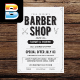 Vintage Barber Shop Flyer Menu - GraphicRiver Item for Sale