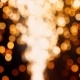 Circle Bokeh Blurred Gold Fireworks Motion Lights Abstract Background - VideoHive Item for Sale