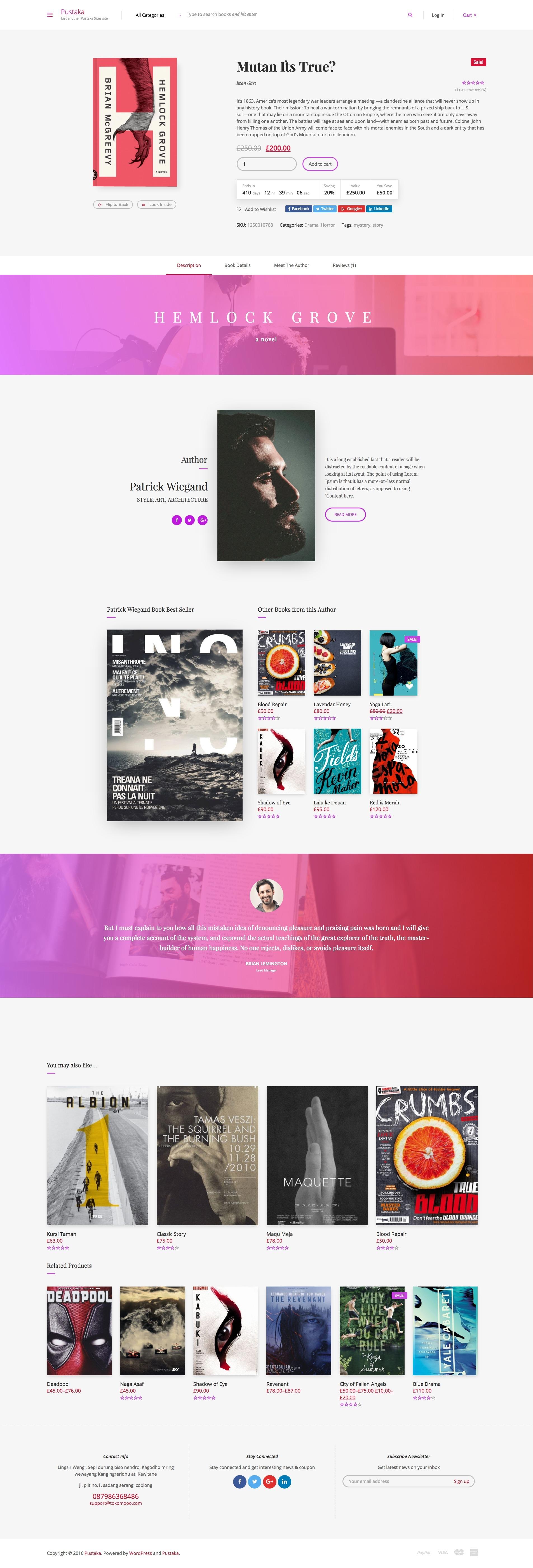 woocommerce custom product template.html