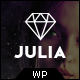 Julia - Talent Management WordPress Theme - ThemeForest Item for Sale