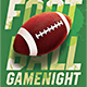 Football Game Night Flyer Template - GraphicRiver Item for Sale