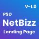 Netbizz - Corporate PSD Template