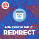 404 Error Page Redirect to Homepage or Custom Page. - CodeCanyon Item for Sale