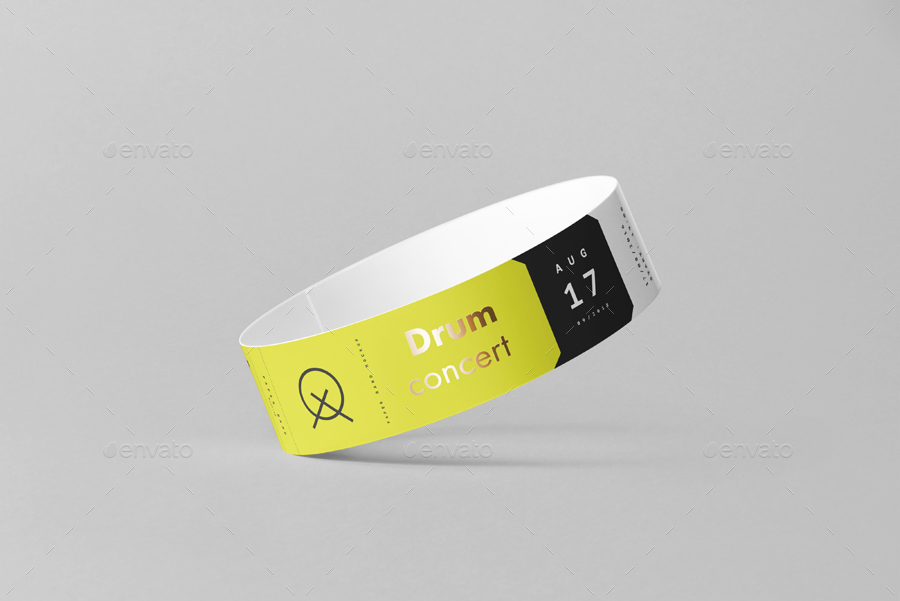 Paper Band Mock-up