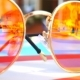 Sunglasses. Pool Reflection. Concept of Holiday at Sea. Observations Children, Play - VideoHive Item for Sale