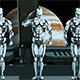 Robots Soldiers on a Spaceship - VideoHive Item for Sale