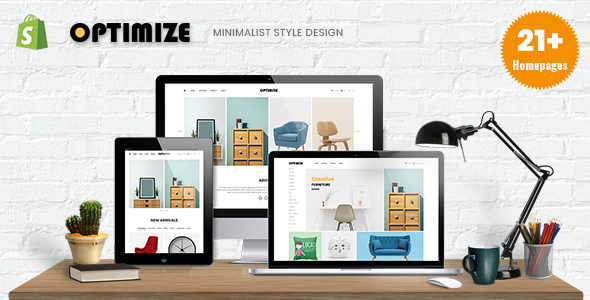 Optimize - Minimalist Shopify Theme For Furniture, Home Decor, Interior & Gift Shop
