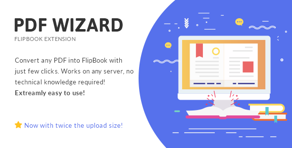 PDF To FlipBook Extension - CodeCanyon Item for Sale