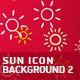 Sun Icon Background 2