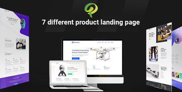 Prohub - Multipurpose & Corporate Product Landing Page Template - Marketing Corporate