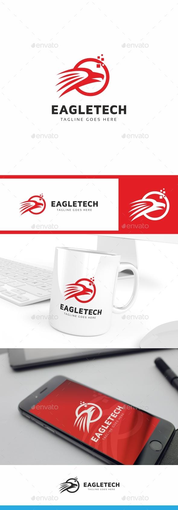 Eagle Logo Template - Symbols Logo Templates
