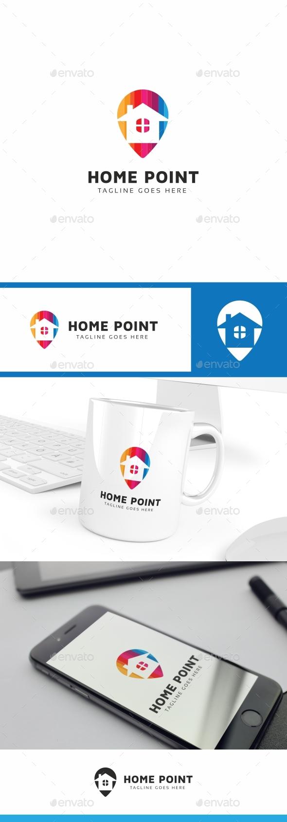 Home Point Logo - Buildings Logo Templates