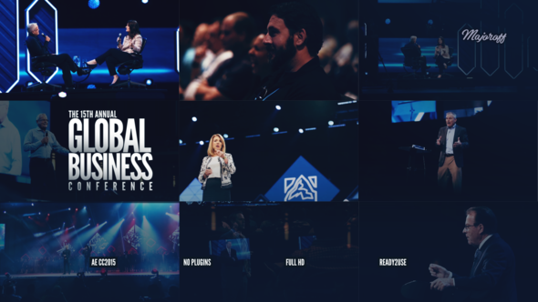 Global Business Conference // Event Promo (Broadcast