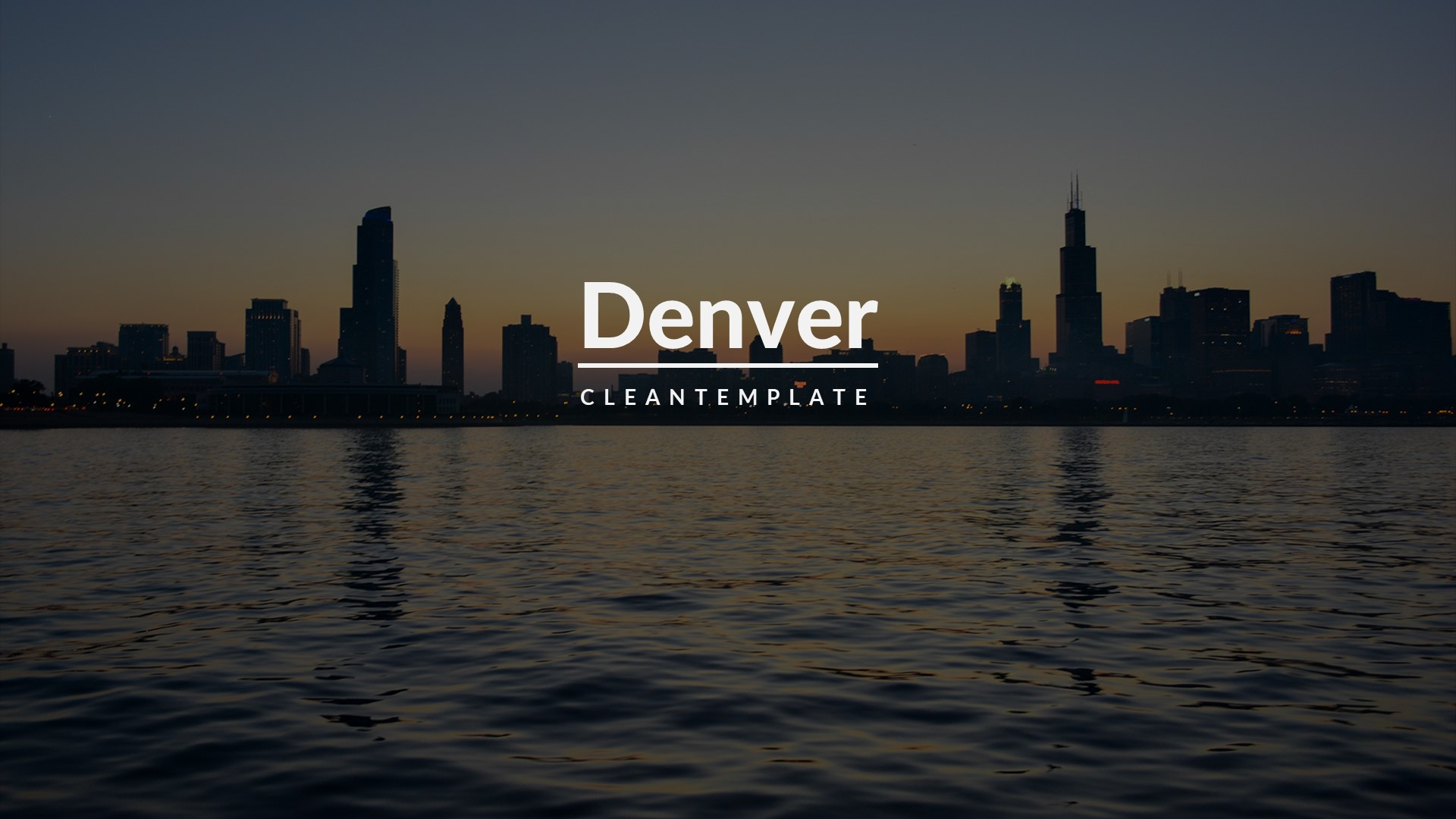 Denver Creative Keynote Template
